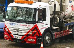 Trabajos de mantenimiento por inundación y malos olores