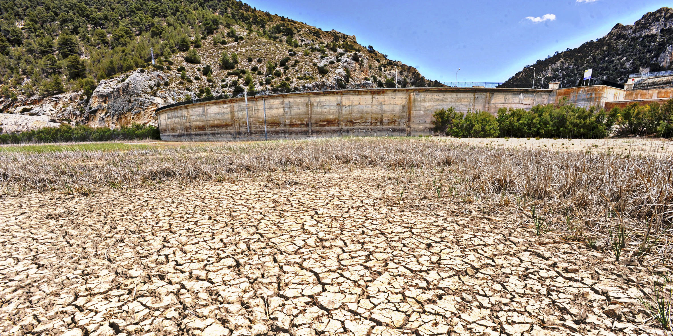 Pantano de Valdeinfierno en Lorca