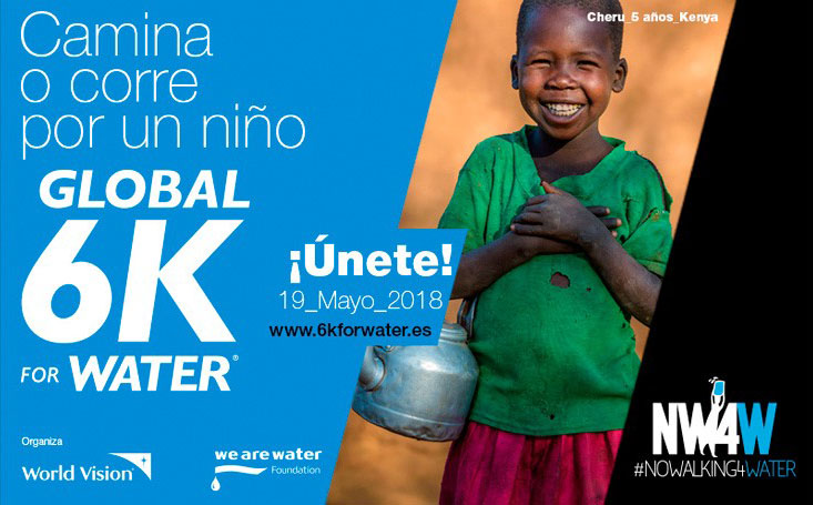 Global 6K For Water: Camina o corre por un niño