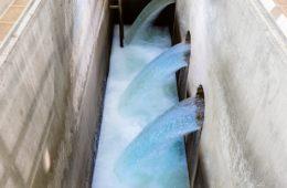 Tratamiento con ozono. Agua potable higiénica