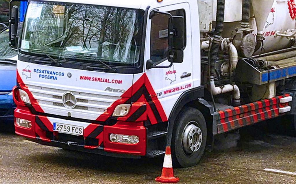 Camión de Desatrancos en San Sebastián de los Reyes