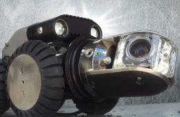 Robot de inspección de tuberías