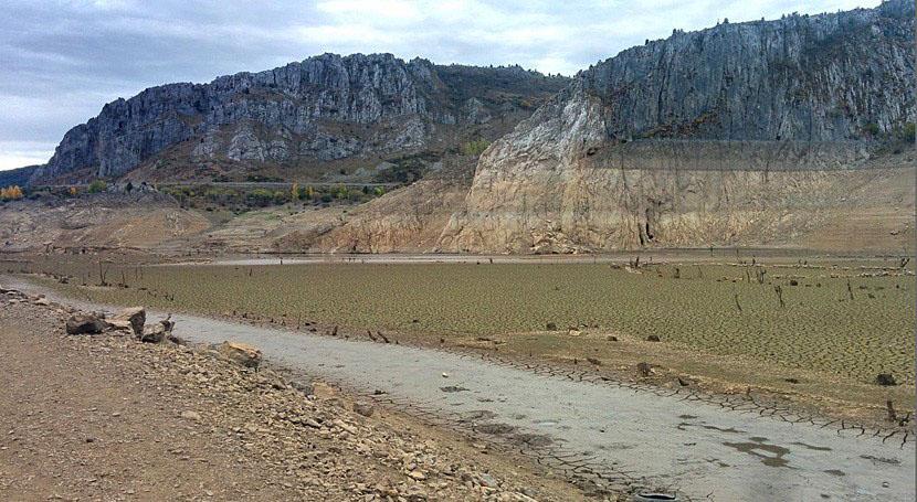 Casasola, en León, durante la sequía de 2017. (CC/Wikipedia)